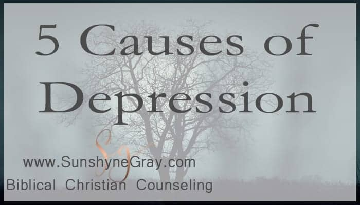 what is depression causes