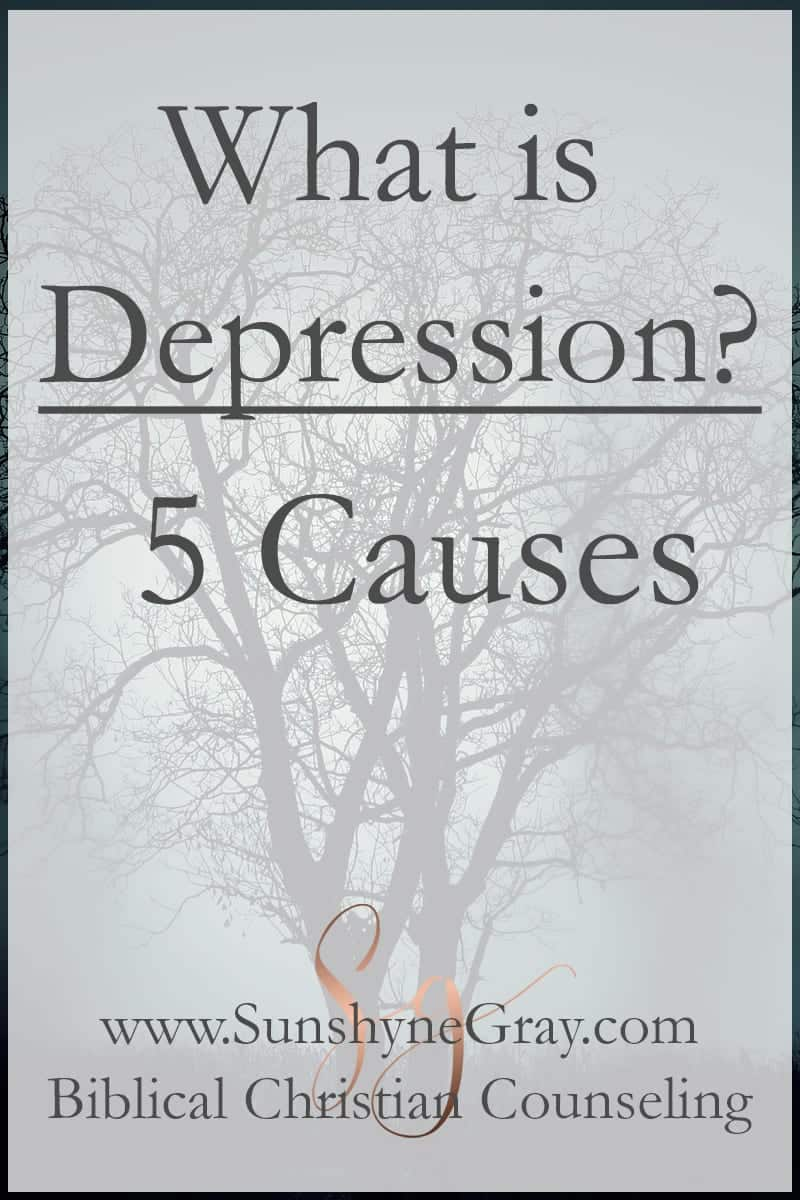 What is Depression? 5 Causes - Christian Counseling