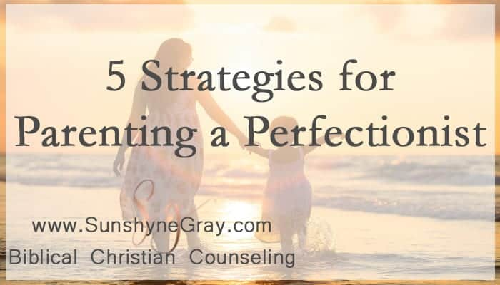 christian parenting perfectionist
