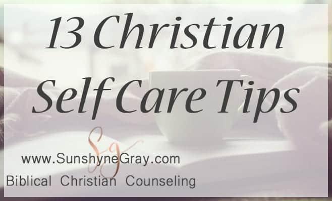 christian self care tips