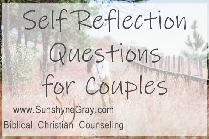 self reflection questions for couples