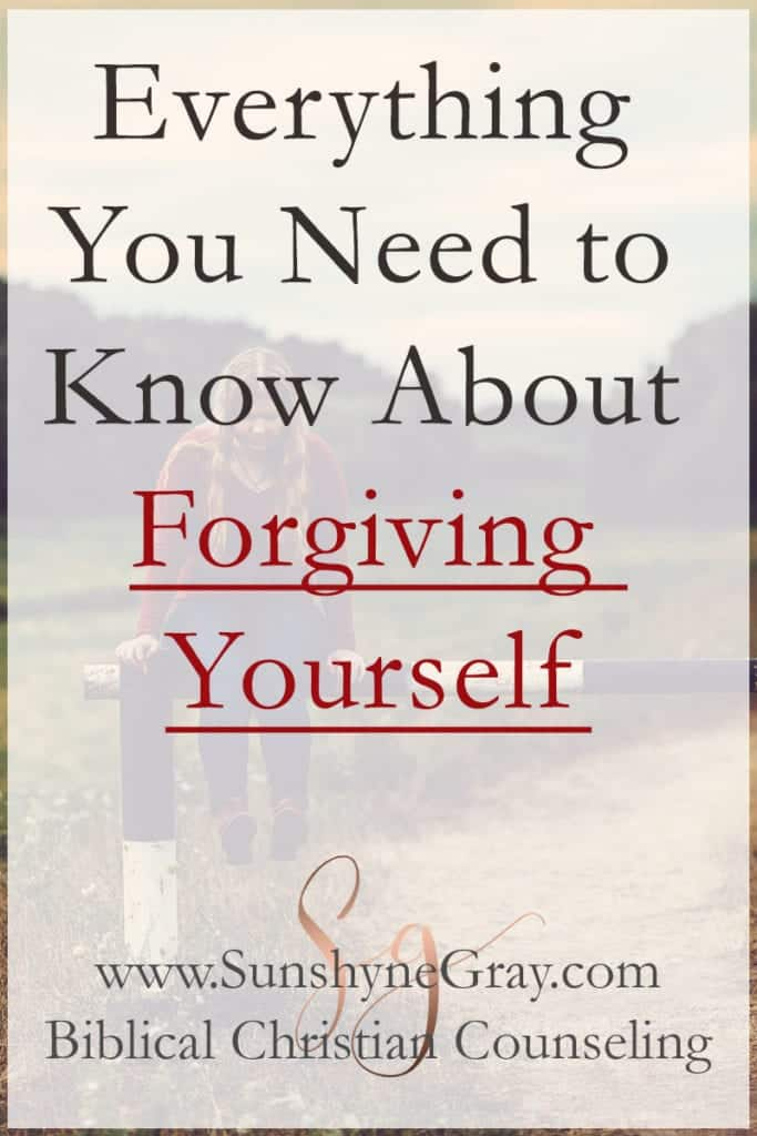 How to Forgive Yourself and Move On - Christian Counseling