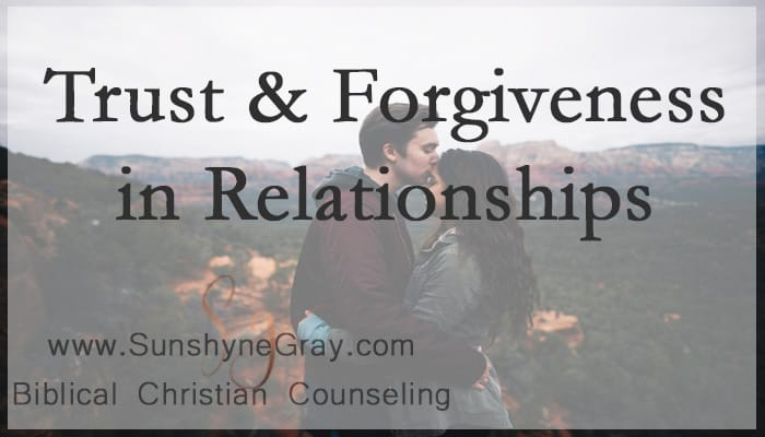 how to gain trust and forgiveness