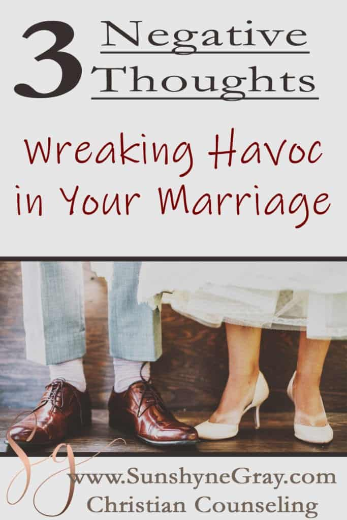 negative thoughts about your spouse