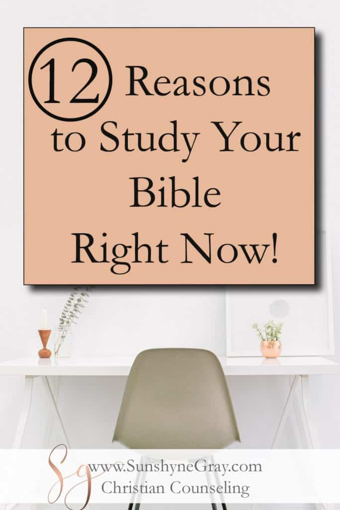 benefits of why study the bible