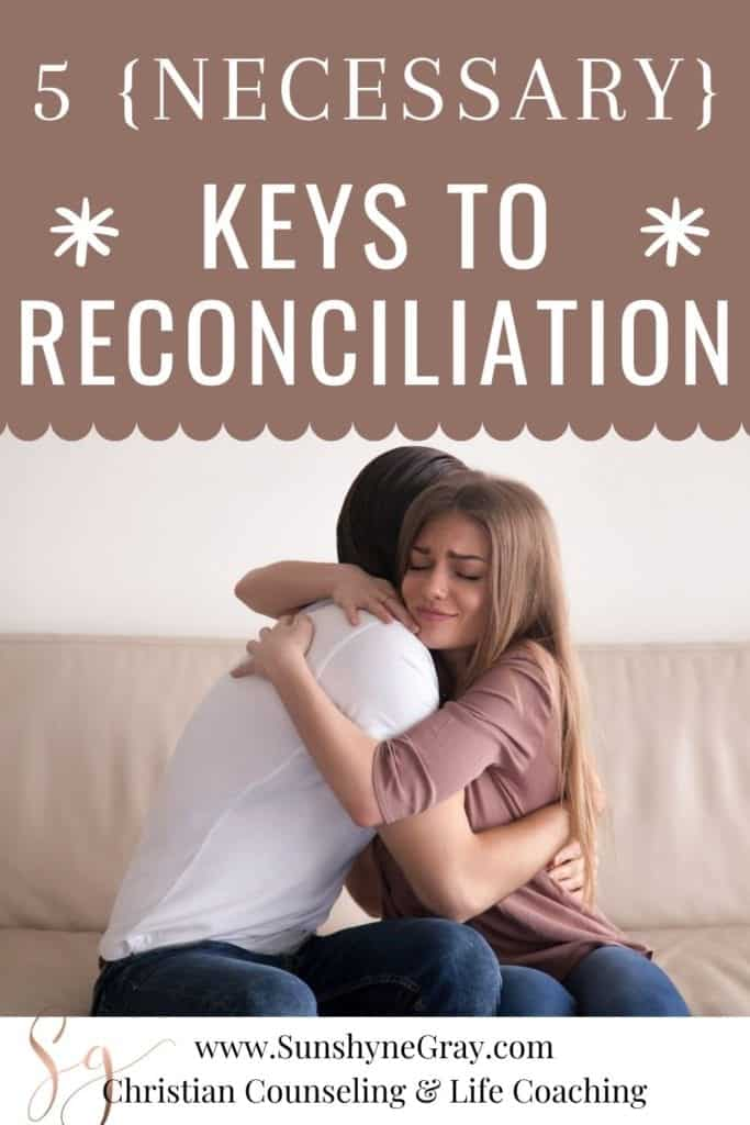 forgiveness and reconciliation how to guide