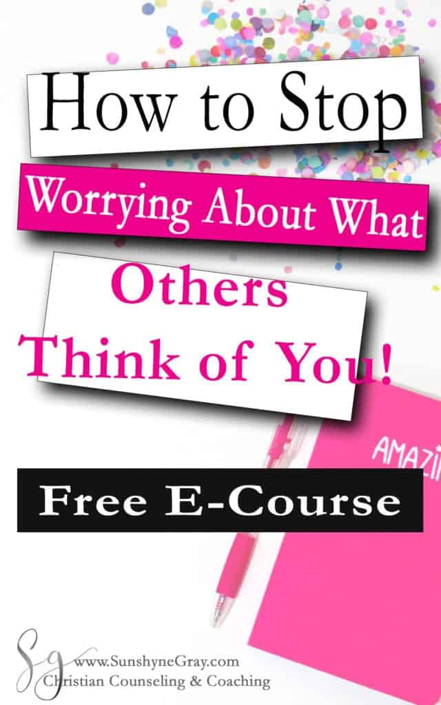 how to stop worry about what others think