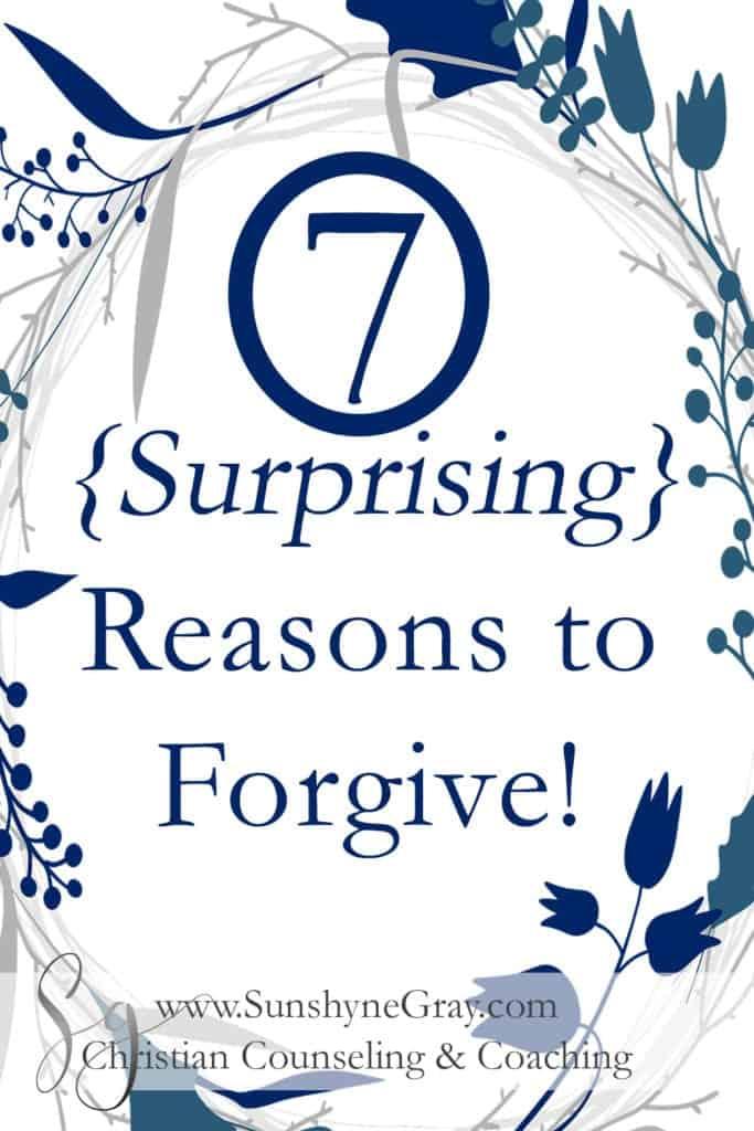 7 benefits of forgiveness