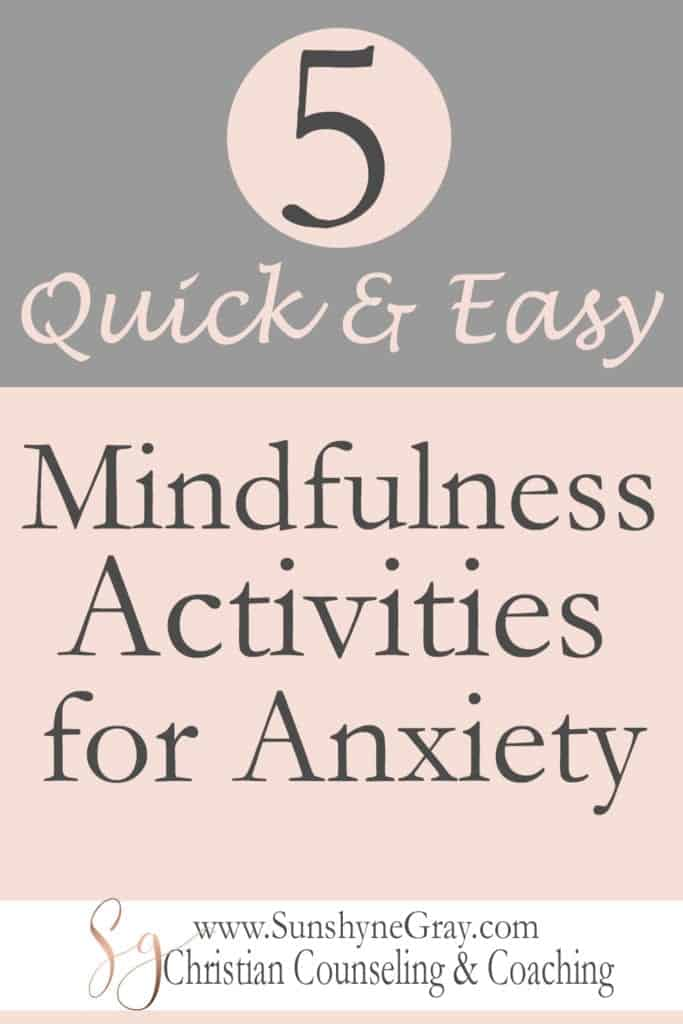 How to practice mindfulness for anxiety