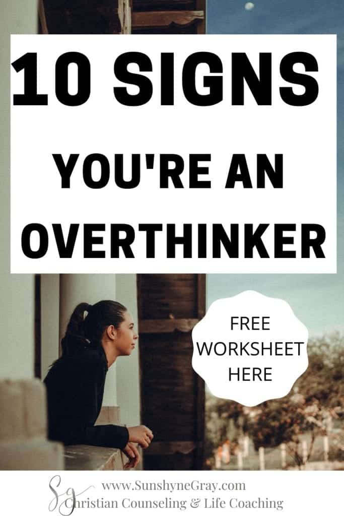 overthinking and worrying
