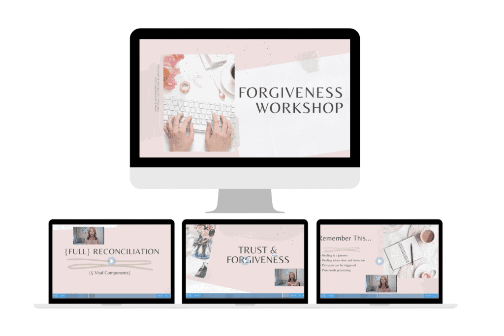 How to forgive workshop