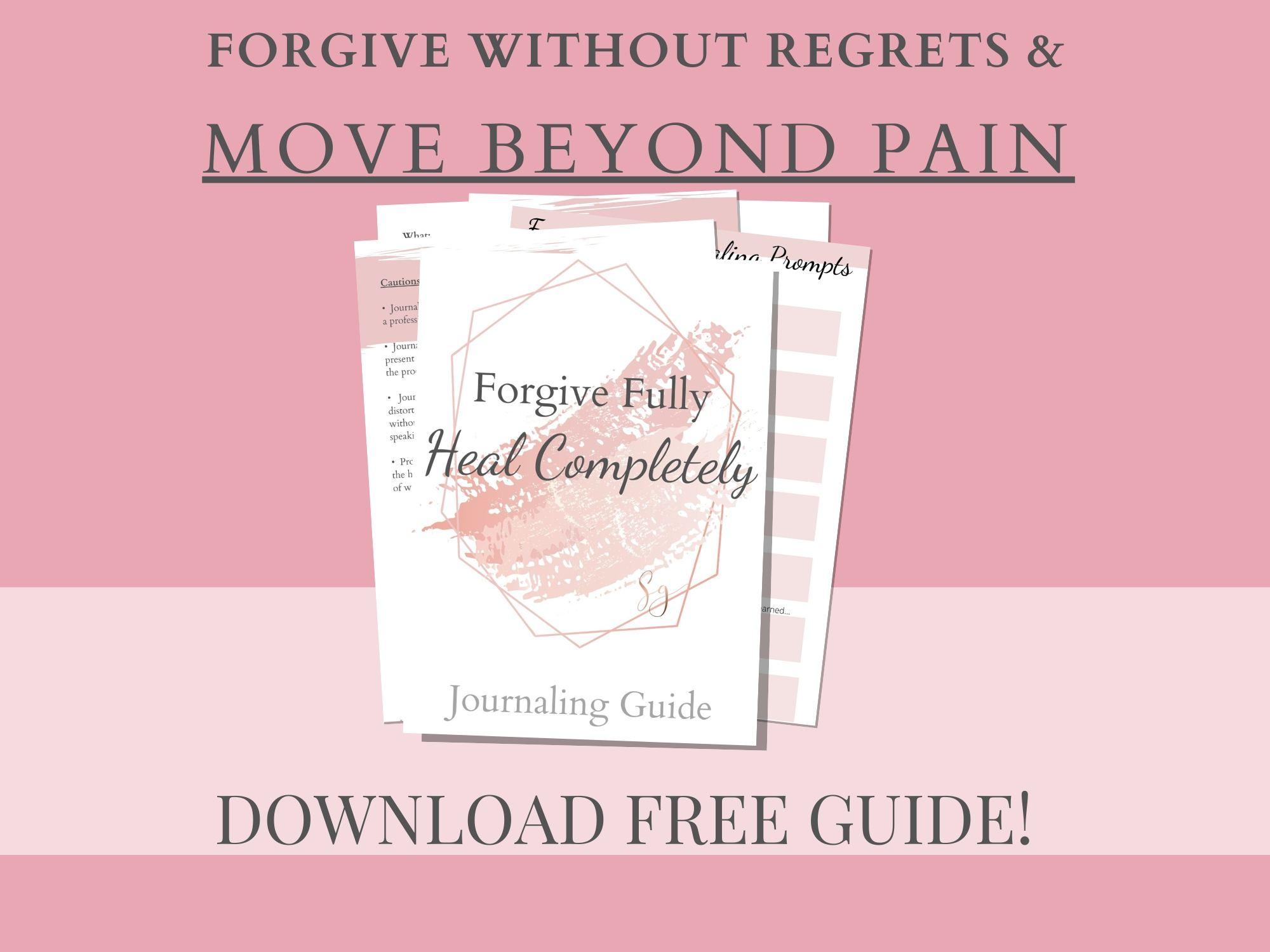FREE Forgiveness & Healing Guide