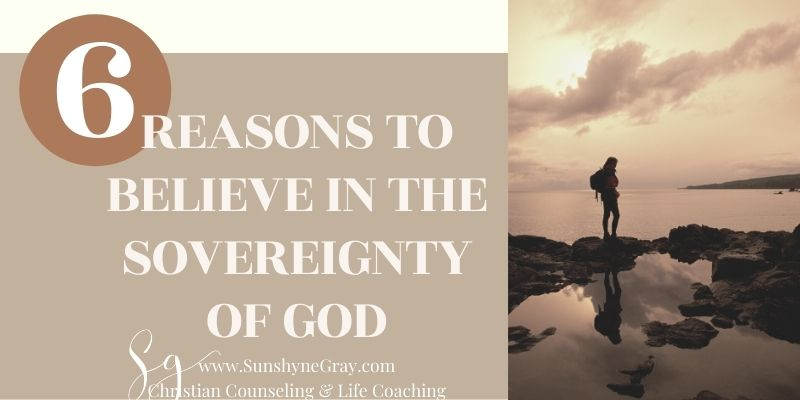woman hiking title understanding the sovereignty of God