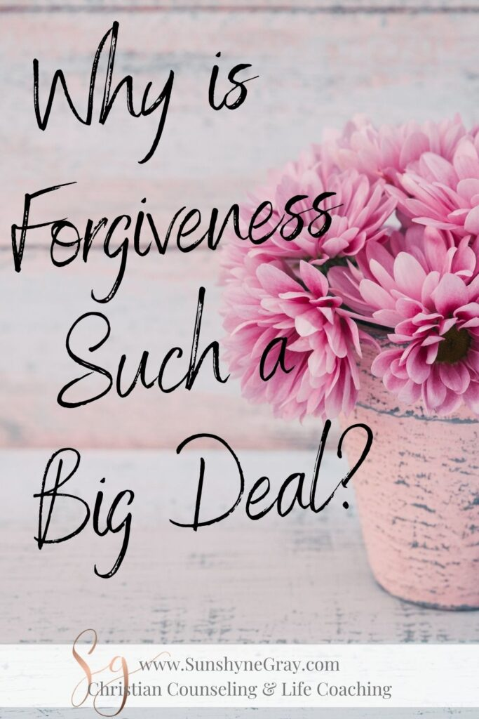 title Why is Forgiveness Such a Big Deal