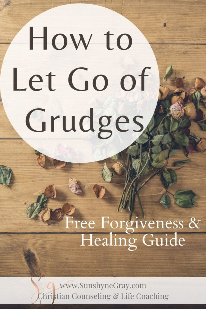 Title: how to let go of grudges