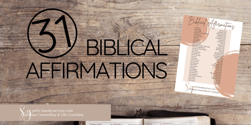 title 31 affirmations from the bible